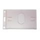 16-447 Hartplastikkartenhalter Vertikal mit Daumenkerbe