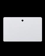 Weisse Karten CR80 PVC Rundloch horizontal